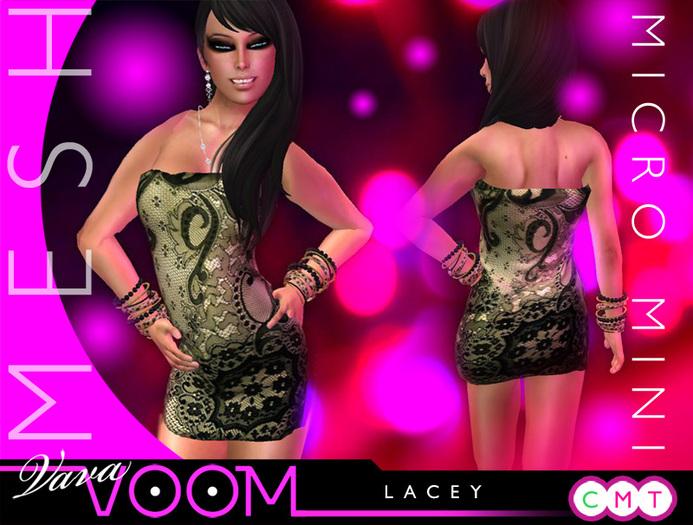 VaVaVOOM ! - Micro Mini > Lacey *MESH*