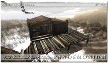 !Pandemonium - Raised Swamp Shack -  59 Prims