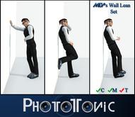 ~{PhotoTonic}~ - .Male Wall Lean *SET*.