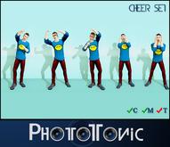 ~{PhotoTonic}~ - Cheer Set