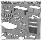 {XO} Full Perm Apothecary Set