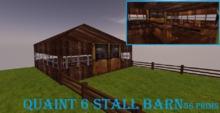 Quaint Six Horse Barn