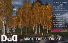 SILVER BIRCH TREES FOREST - no copy -UPDATE 3.0 VERSION