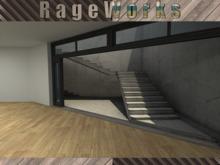 Residential Loft V2 - 100% Mesh - 9 Prims - (RageWorks)