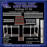 TD Railings V1 Mesh Kit