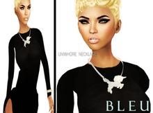 - B L E U - UniWhores Necklace *Silver*