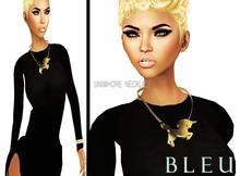 - B L E U - Uniwhores Necklace *Gold*