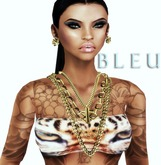 - B L E U - Monifah Chains Set