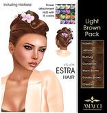 Amacci Hair ~ Estra - Light Brown Pack