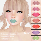 [XCW] Barbielips - Soft colors