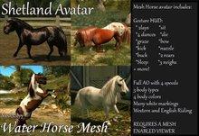 ~*WH*~ Mesh Shetland Avatar