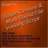 Script: Vendor Gestures SGMSVX-10