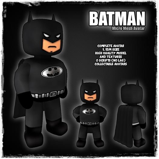 [LR]Batman - Micro Mesh Avatar - SPECIAL PRICE!