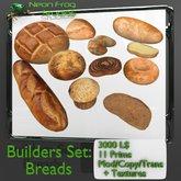 Sculpted Breads Builders Set