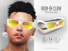 [IC] MESH 80s Custom SunGlasses .::White::. UNISEX
