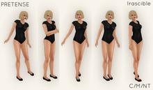 PRETENSE - IRASCIBLE - BOXED Five Pose Set