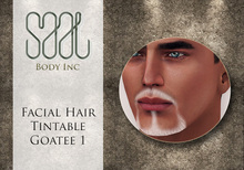 .::SAAL::. FACIAL HAIR TINTABLE  GOATEE 1