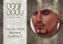 .::SAAL::. FACIAL HAIR BROWN GOATEE 2
