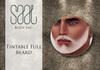 Tintable full beard