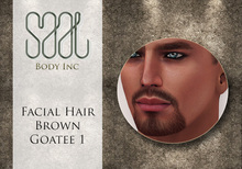 .::SAAL::. FACIAL HAIR BROWN GOATEE 1