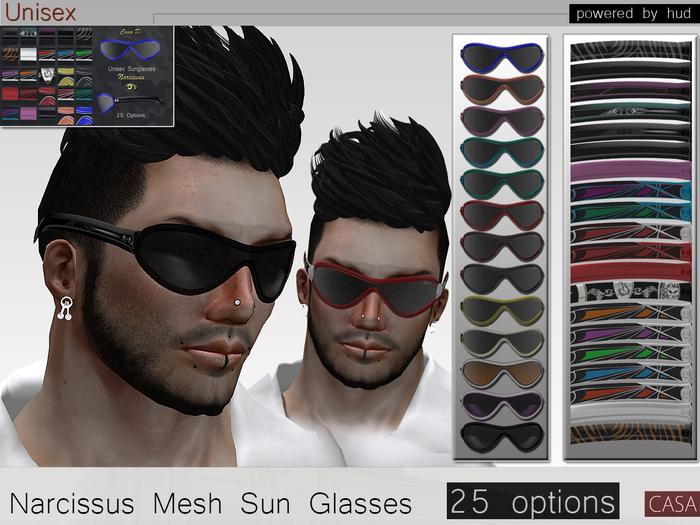 Unisex Sun Glasses Casa D (mesh)