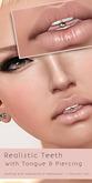DeeTaleZ Skins Teeth & Tongue with Piercing