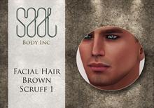 .::SAAL::. FACIAL HAIR BROWN SCRUFF 1