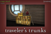 [croire] Traveler's Trunks (Suitcase Stack ) Grunge indie hipster boho decor home decorations