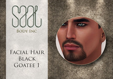 .::SAAL::. FACIAL HAIR BLACK GOATEE 1