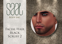 .::SAAL::. FACIAL HAIR BLACK SCRUFF 2