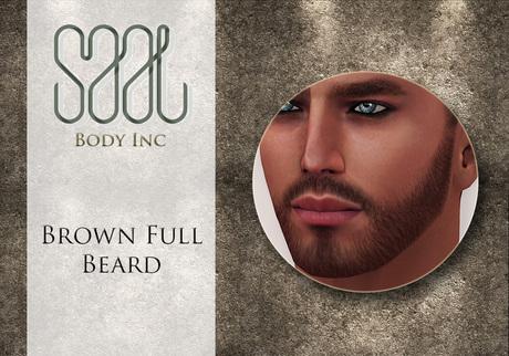 .::SAAL::. FACIAL HAIR BROWN FULL BEARD