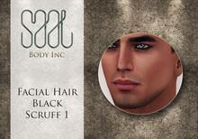 .::SAAL::. FACIAL HAIR BLACK SCRUFF 1