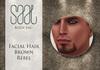 .::SAAL::. FACIAL HAIR BROWN REBEL