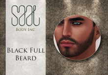 .::SAAL::. FACIAL HAIR BLACK FULL BEARD