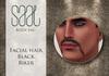 .::SAAL::. FACIAL HAIR BLACK BIKER