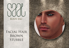 .::SAAL::. FACIAL HAIR BROWN STUBBLE