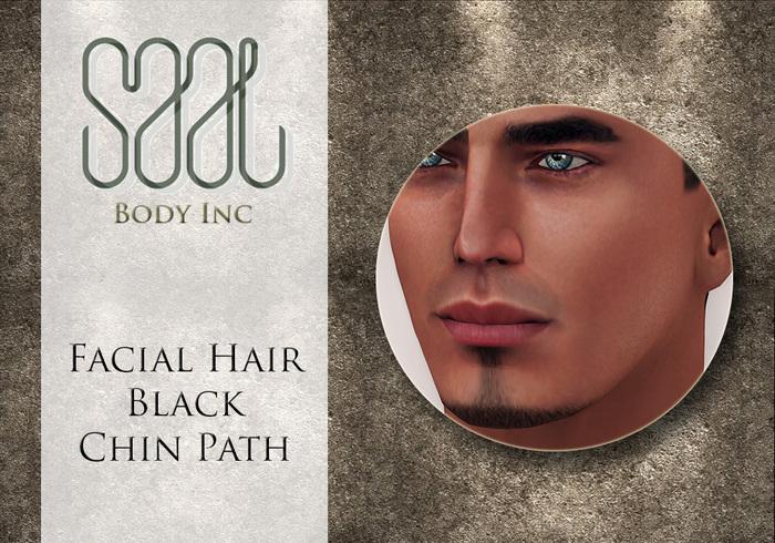 .::SAAL::. FACIAL HAIR BLACK CHIN PATH