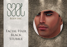 .::SAAL::. FACIAL HAIR BLACK STUBBLE
