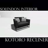 SOLENDON Kotoro Sofa Recliner