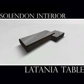 SOLENDON Latania Table [9prims]