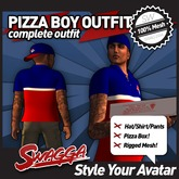 [SWaGGa] Pizza Boy Outift BX
