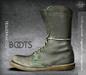 [Deadwool] Trauermarsch Boots - (olive)