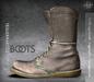 [Deadwool] Trauermarsch Boots - (taupe)