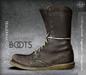 [Deadwool] Trauermarsch Boots - (brown)