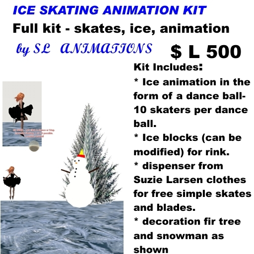 OnP Ice Skating Rink System 2