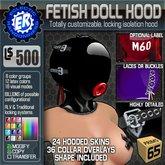 ER Fetish Doll Hood