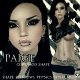 .:Panda Punx:. Body Shop Paige Shape  (Boxed)