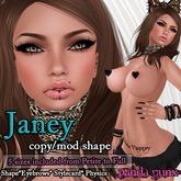 .:Panda Punx:. Body Shop Janey Shape  (Boxed)