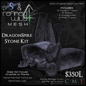 - DragonSpire Stone Kit - A MESH Kit by Khyle Sion & Emsdrakkan