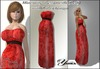 Maternity dress mesh Red from <<Yanka>>